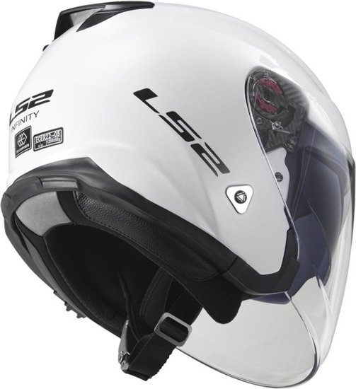 Kask LS2 INFINITY solid white