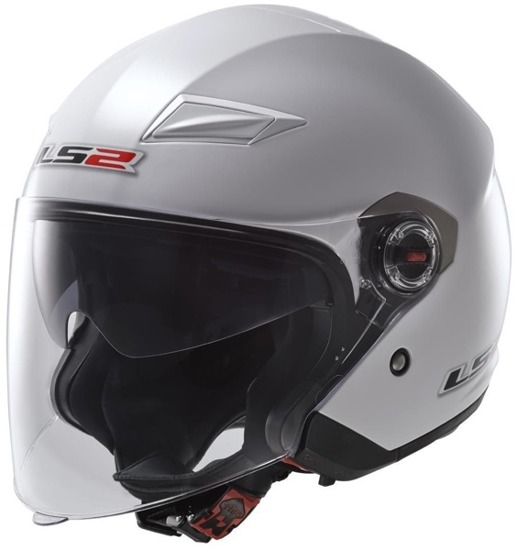 Kask LS2 TRACK solid white